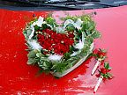 Decoration for the wedding car (70)