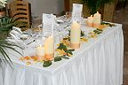 Decoration for the wedding table (297)