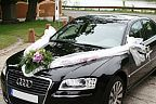 Decoration for the wedding car (327)