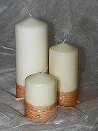 Decorated candles (736)