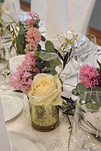 Floral decoration the table (743)