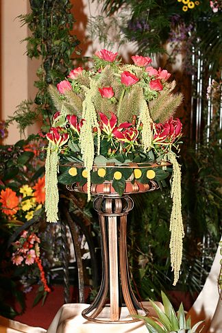 Floral decoration for the Gardener's Ball