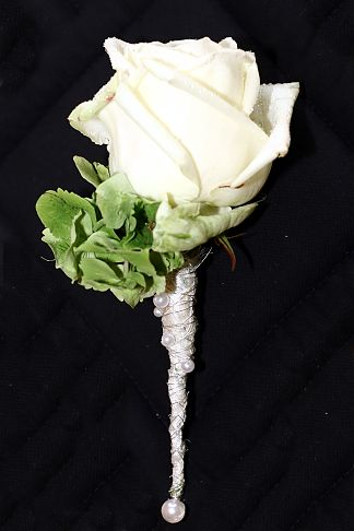 Corsage for the groom