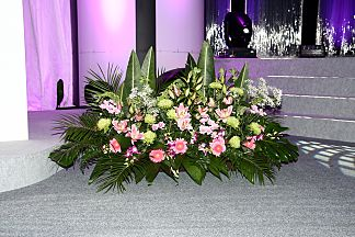 Floral decoration for company events