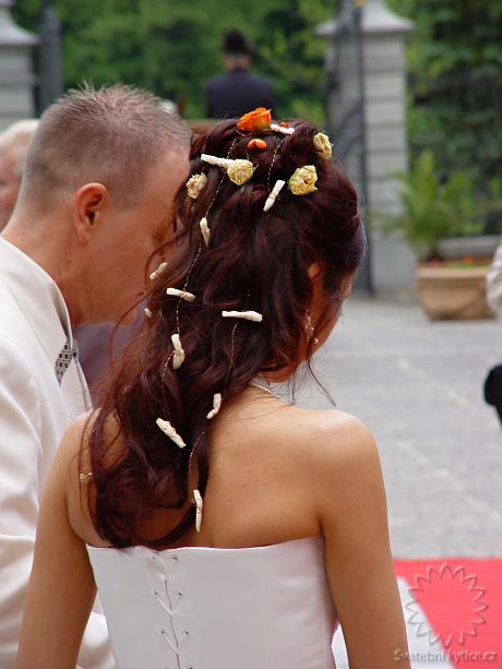 Flowers for the hair